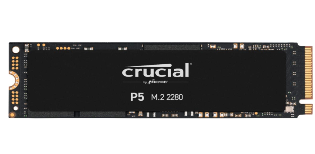 crucial p5 ssd image