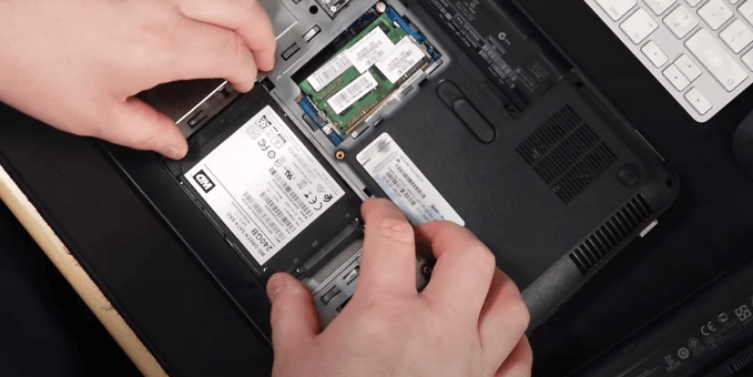 fit your ssd to its place in pavilion g6
