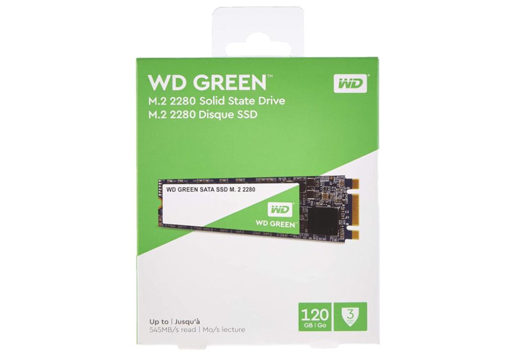 WD Green M.2 SATA SSD