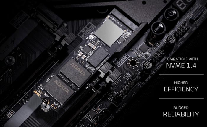 XPG GAMMIX S70 BLADE PCIe Gen4x4 M.2 2280 Solid State Drive Image
