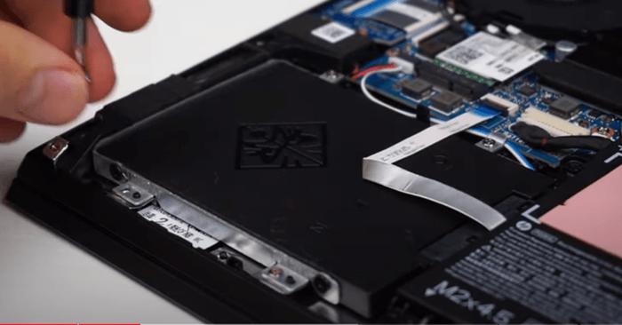 Removing SATA Hard drive