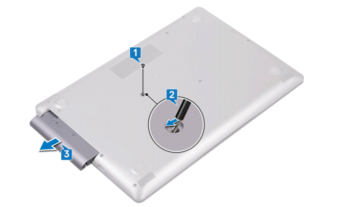 removing the optical drive