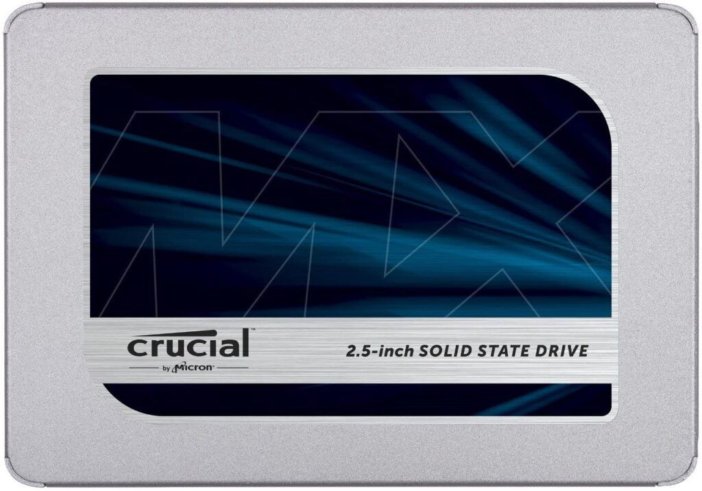 crucial mx500 ssd image
